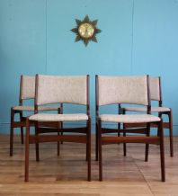 Danish Erik Buch dining chairs - SOLD